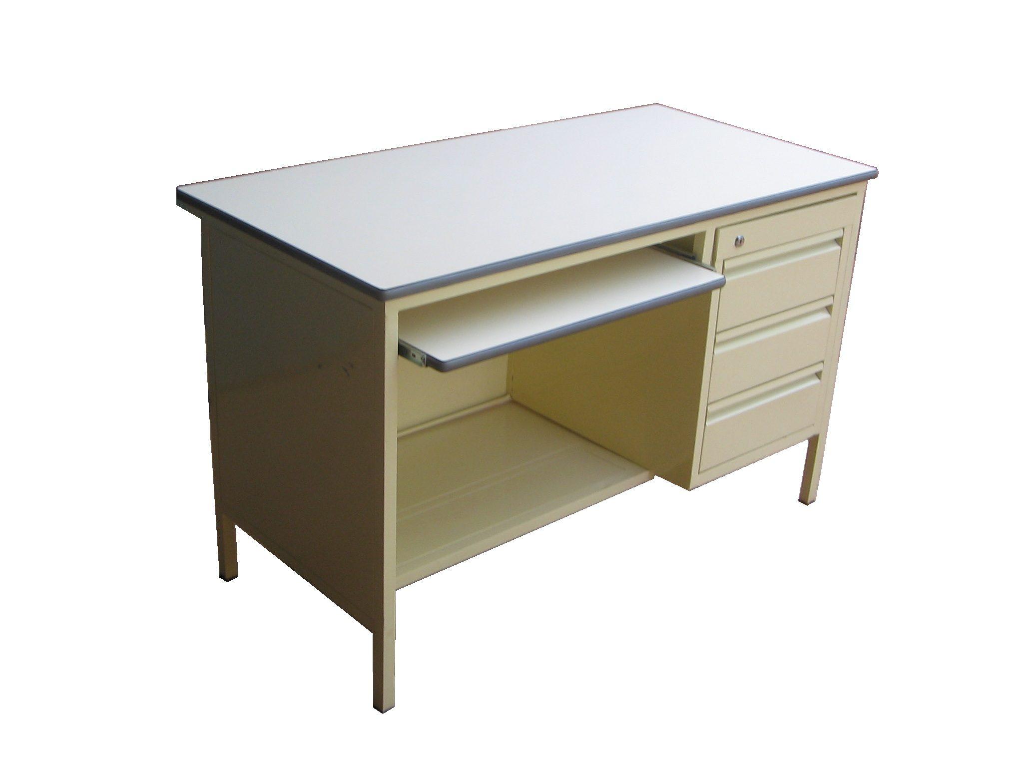 Bureau, dactylo avec clavier